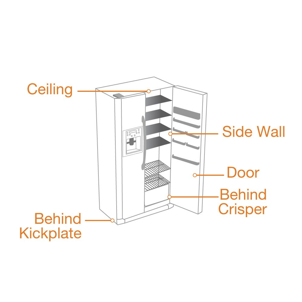 major_appliance_refrigerator_side_by_side amazon com ge wr30x10093 refrigerator icemaker kit home improvement  at crackthecode.co
