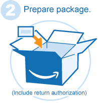 how to get return label amazon