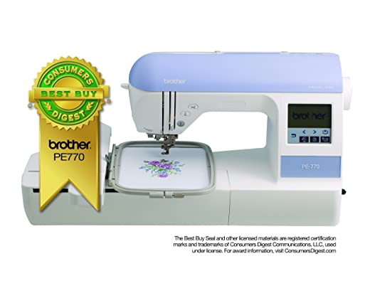 Amazon Brother Embroidery Machine PE40 40 X 40 Embroidery Classy Monogram And Sewing Machine