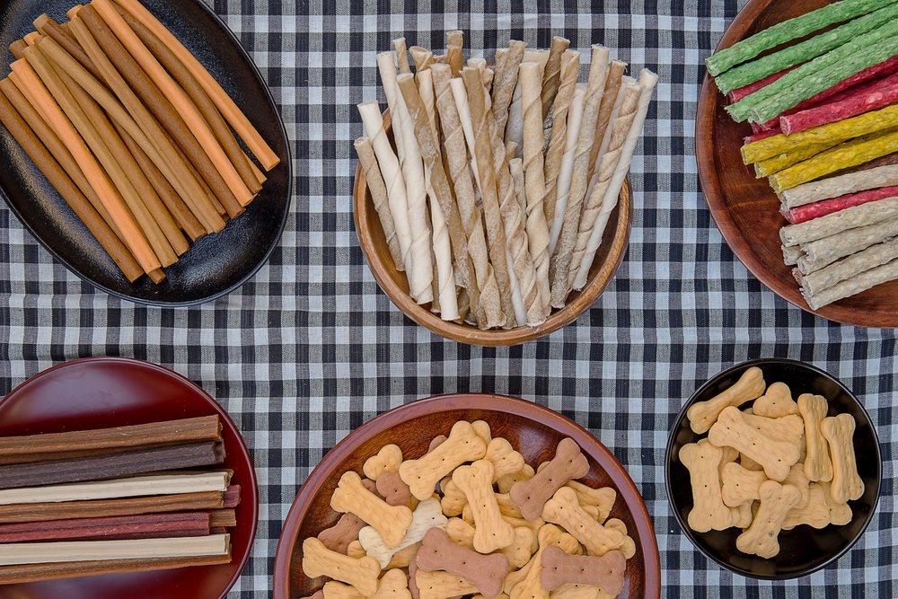 Dog Food and Treats Sample Box
