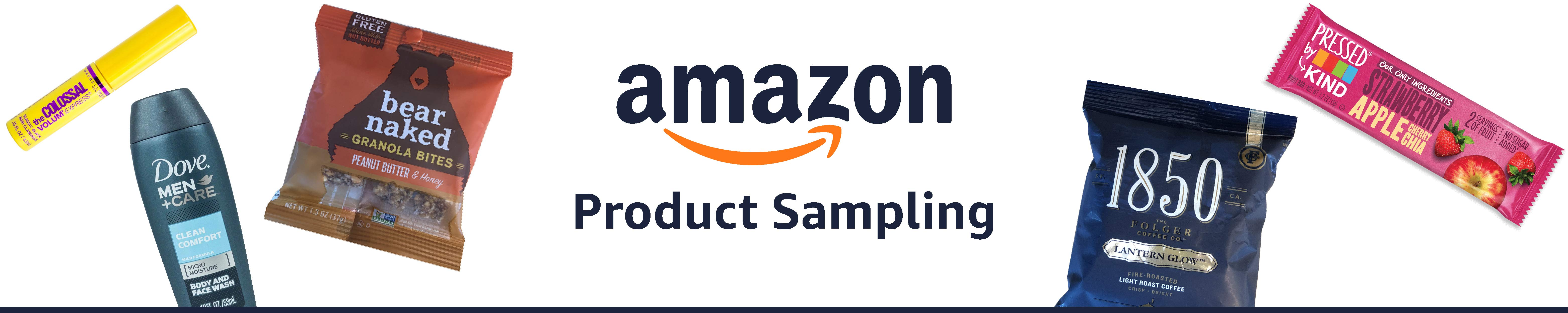 Receive FREE Samples from Amaz...