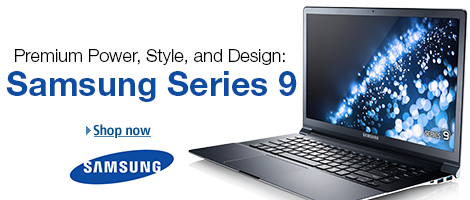 Samsung Series 9 Laptops