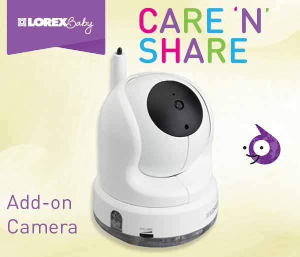 Lorex Baby Care 'N' Share Add-On Camera