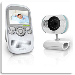 new uniden ubr223 2 3 lullaboo lcd baby monitor portable camera ebay. Black Bedroom Furniture Sets. Home Design Ideas