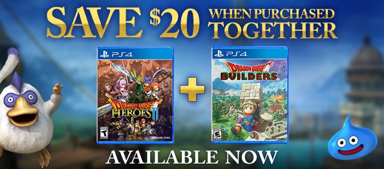 Dragon Quest Builders + Dragon Quest Heroes II Explorer's