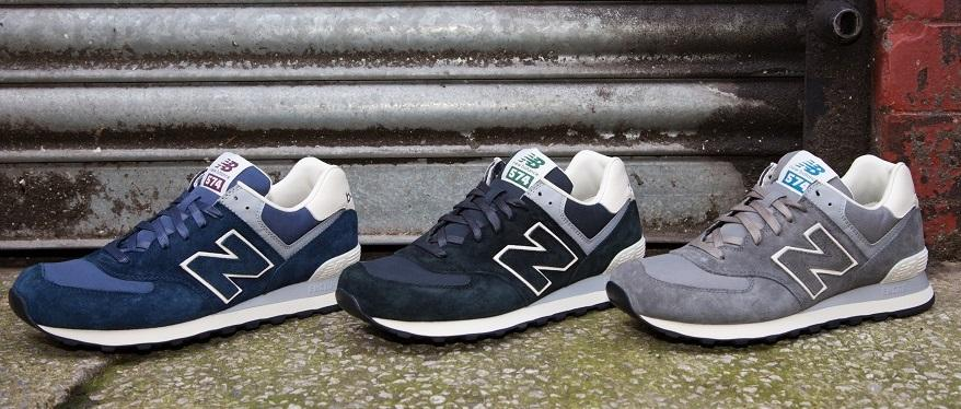 574 new balance men navy