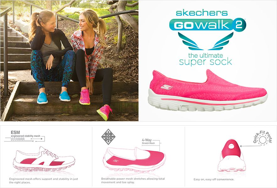 are skechers go walk 2 washable