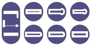 7 buttonholes