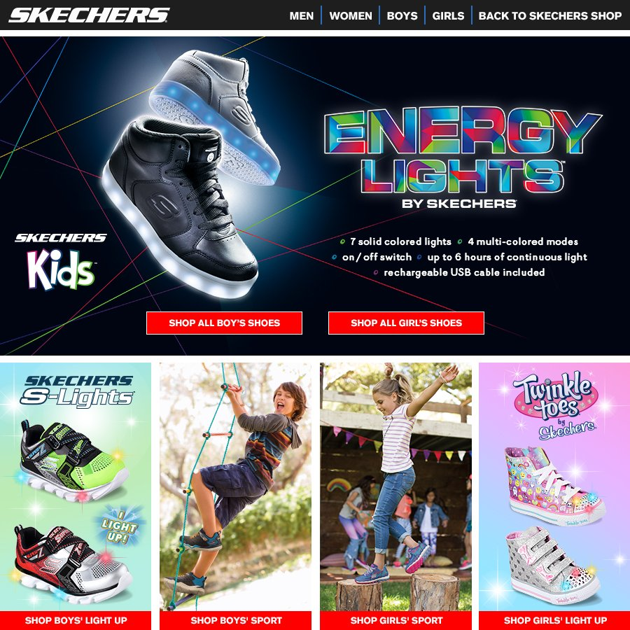 baby boy skechers