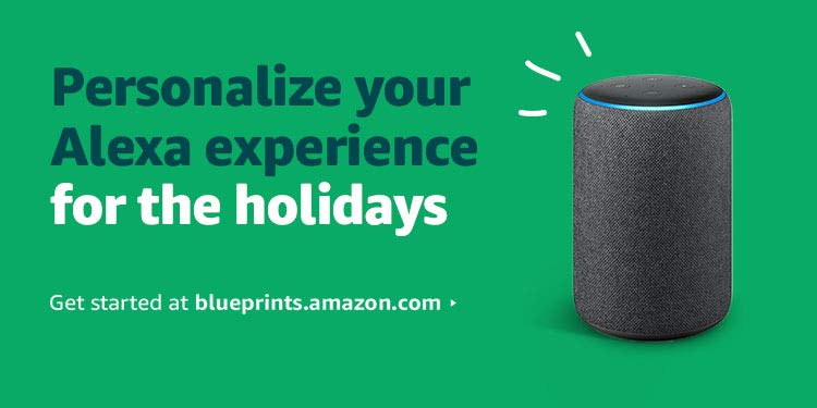 Personalize your Alexa experience for the holidays