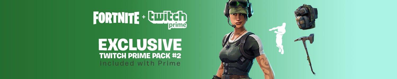 Fortnite Twitch Prime