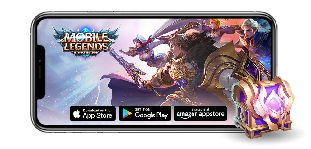Mobile Legends: Bang Bang loot for Amazon Members