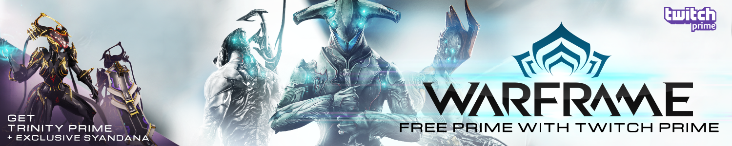 Warframe Twitch Prime