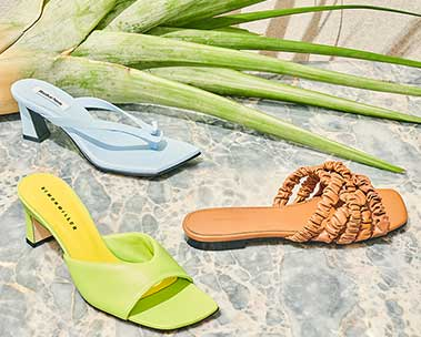 Spotlight on sandals