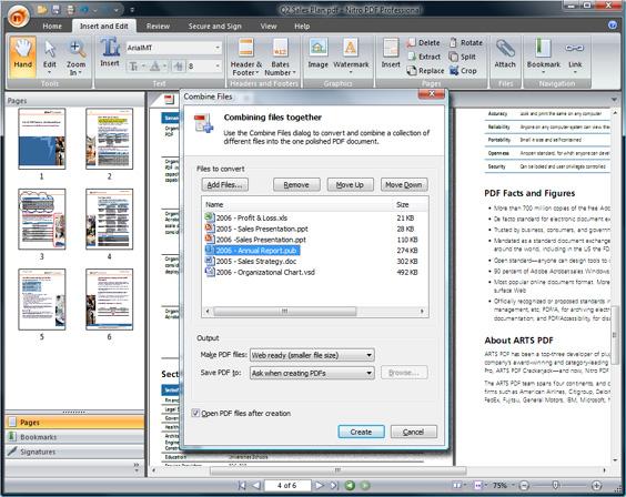 Win 8 pdf nitro