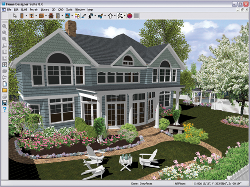 Better homes and gardens home designer suite 8 - Best home and landscape design software ...