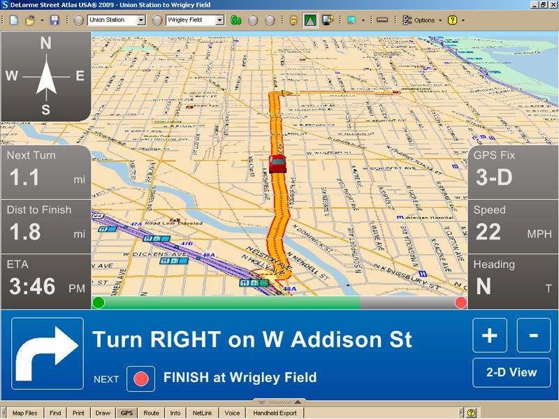 amazoncom delorme street atlas usa 2009 old version