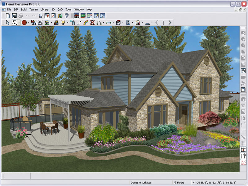 Better homes and gardens home designer pro 8 0 - Best home and landscape design software ...