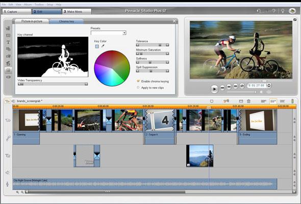 pinnacle studio 12 video editing software free download
