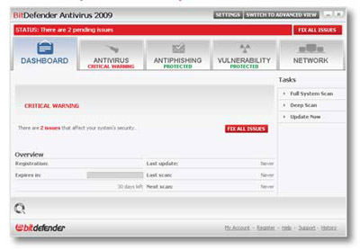 Bitdefender antivirus free edition has blocked a page / loading6cc gq