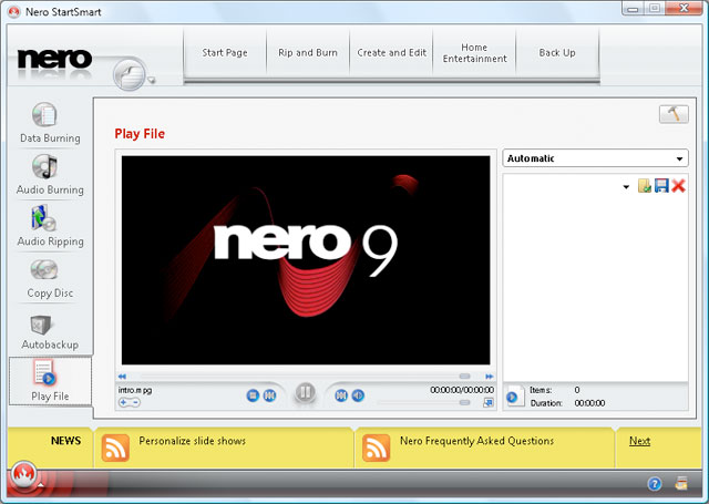 Get a serial number for Nero 9 Trial