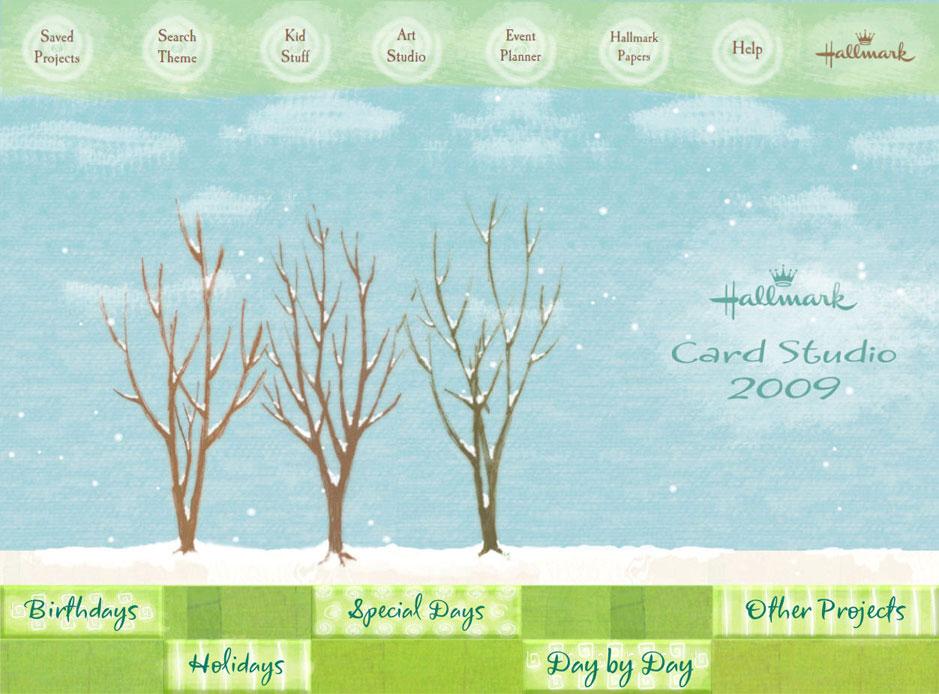 Amazon hallmark card studio 2009 deluxe click to enlarge m4hsunfo
