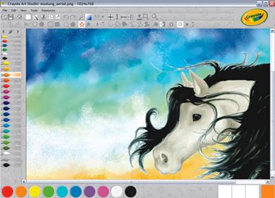 Crayola Art Studio Software