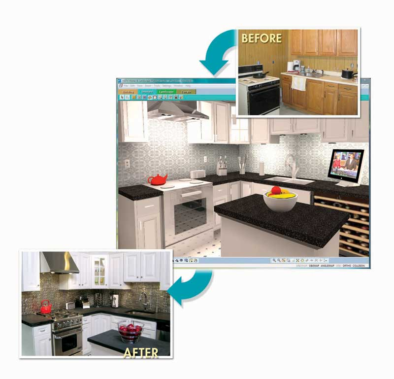 kitchen design software hgtv hgtv home amp landscape platinum suite version 677