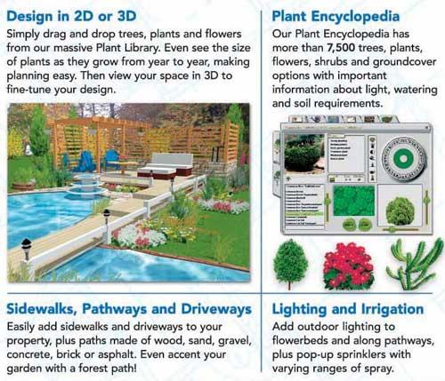 Home Landscape Software Features: Amazon.com: HGTV Home & Landscape Platinum Suite [Old Version]