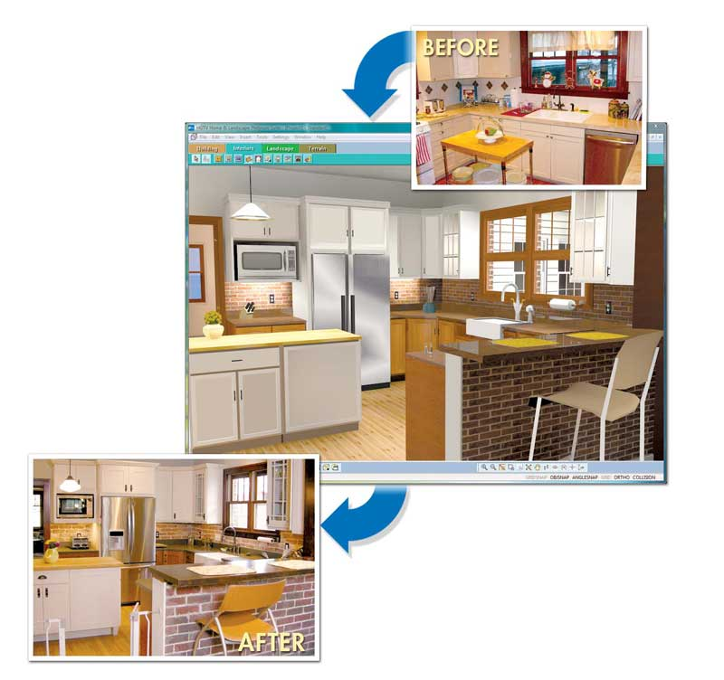 Click to enlarge  Amazon com HGTV Home Design Remodeling Suite