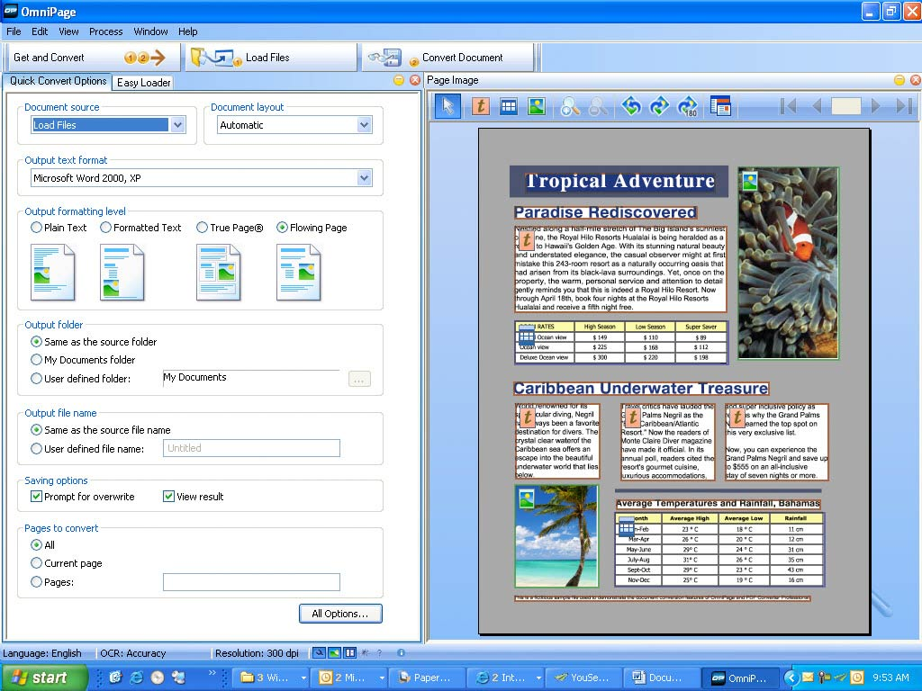 Nuance OmniPage Professional 17.1 Description