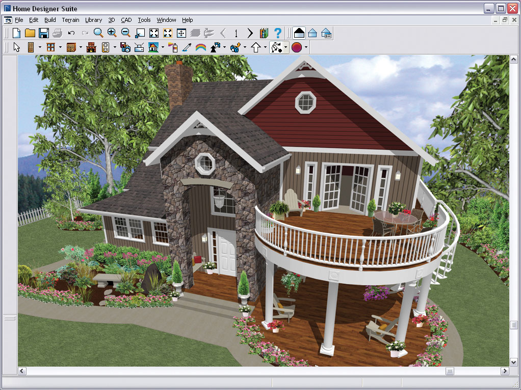 Chief architect home designer suite 9 0 - Home decorating design software free ...