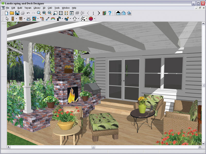 Chief Architect Landscaping And Deck Designer 9 0 Software