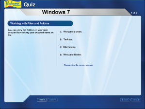 End-of-chapter quiz questions