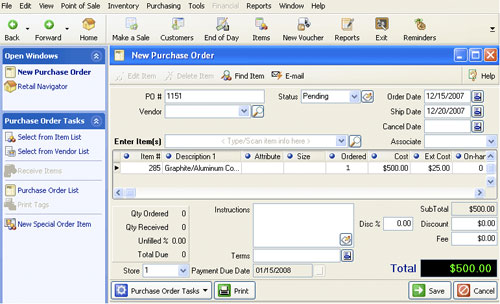 Amazon com: QuickBooks Point of Sale Software & Hardware 9 0