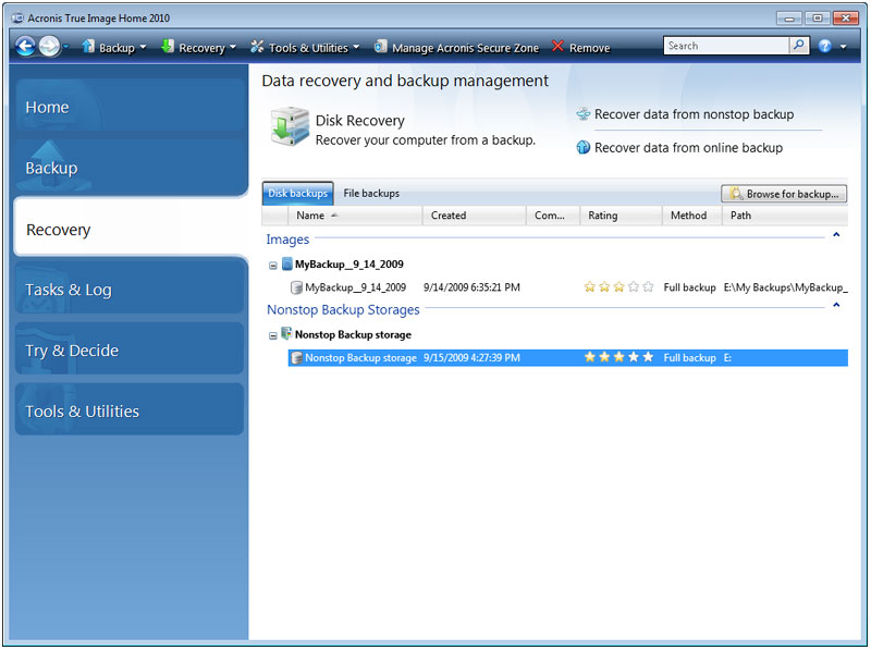 Cheapest Acronis True Image Home 2010