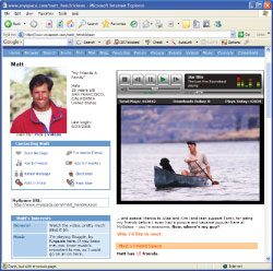 Publish slide shows directly to the Web at MySpace, YouTube, and more!