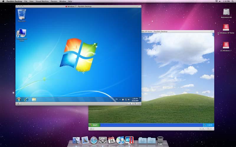 2 windows mac side by side