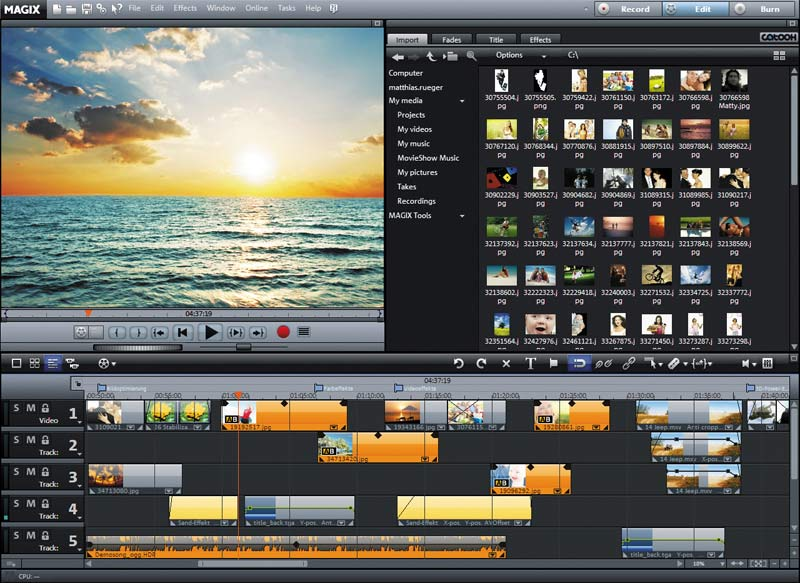 Movie Edit Pro 16 Plus Old Version
