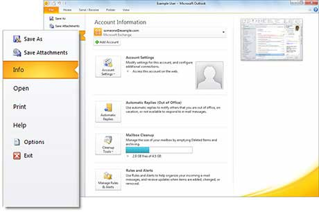 Microsoft Outlook 2010 39037 | DFILES