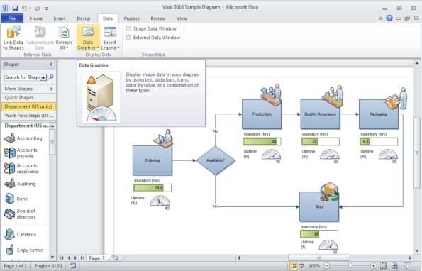click to enlarge - Visio 2010 For Mac