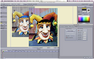 Cartoon-style effects for image or video