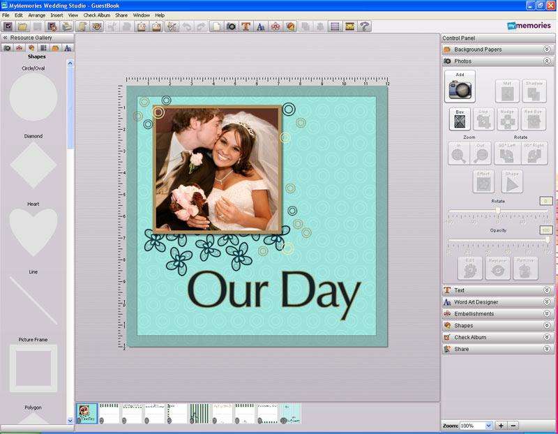 Amazon.com: MyMemories Wedding Studio SB: Software