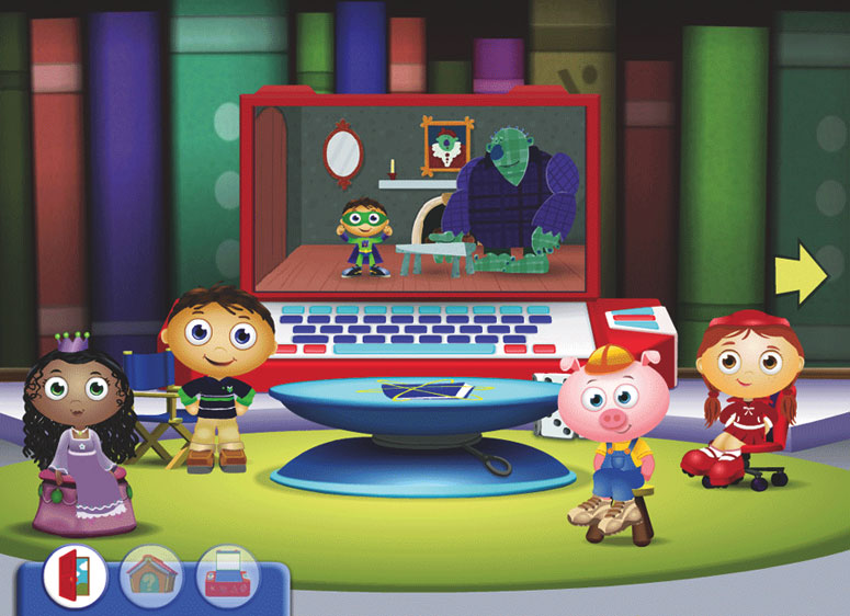 Amazon.com: Super Why! The Power To Read: Software