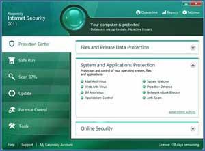Kaspersky Internet Security--Protection