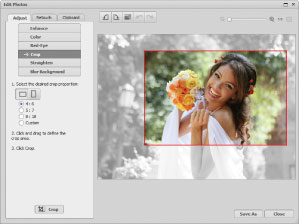 Retouch and Editing tools