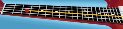 eMedia Bass For Dummies--Fretboard