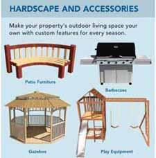 Hardscape & Accessories