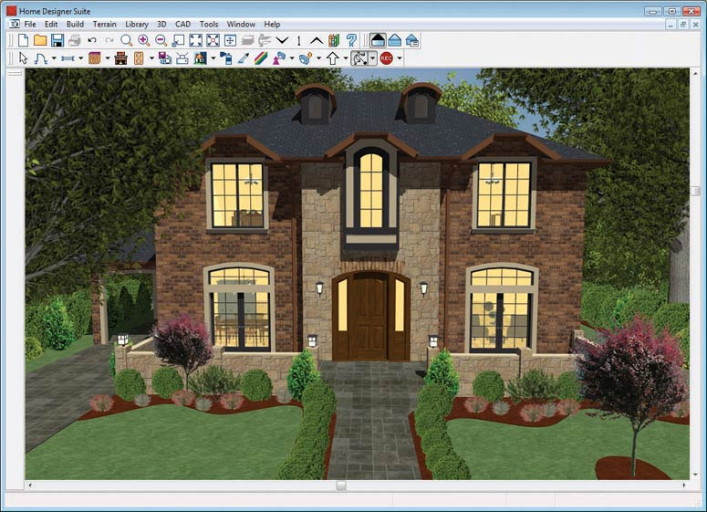 Chief architect home designer suite 10 software - Chief architect home designer professional ...