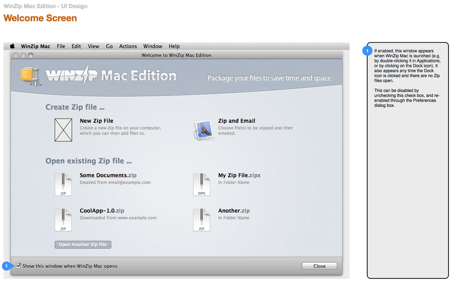 WinZip for Mac [Old Version]